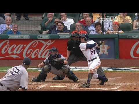 NYY@HOU: Altuve hits another single to score a run