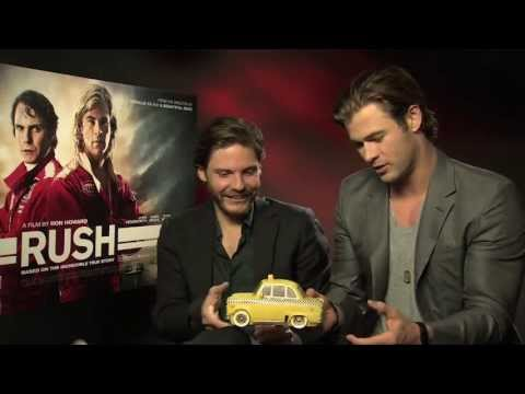 Daniel Brühl & Chris Hemsworth take on the Rush Quiz