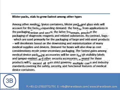 Bharat Book Presents : World Medical Device Packaging