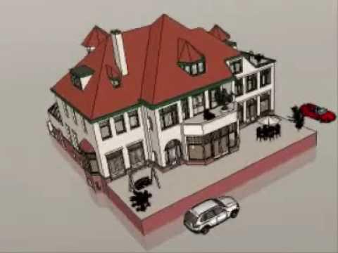 Digihouze uw 3d huis youtube for Huis maken 3d