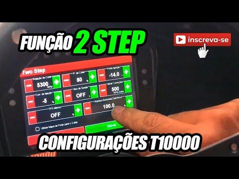 Configurando o 2-Step Direto na Tela da T10000 - INJEPRO