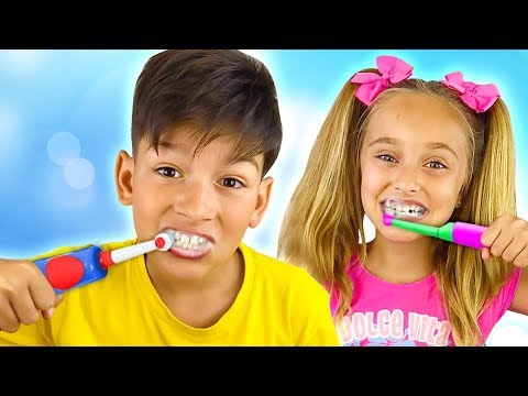 Sasha and compilation of funny songs for kids