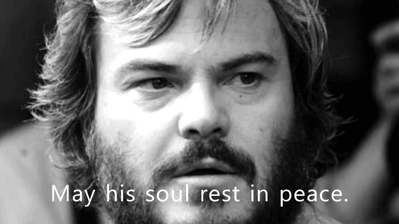 is jack black really dead