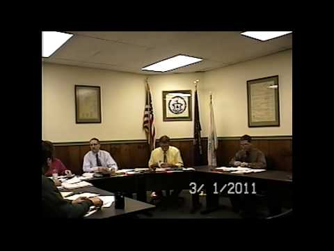 Champlain Village Board Meeting 3-1-11