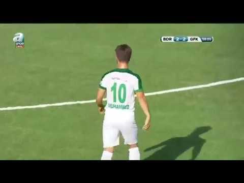Muhammed Akarslan'ın frikik golü! Bodrumspor 2 - 2 G. Şehir Gaziantep Dk: 81