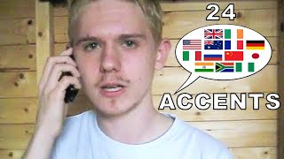 This Guy Can Talk English Language In 24 Accents, Including Nigerian Accent [VIDEO]