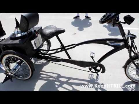 Trae Tha Truth's Custom Bike On Swangers