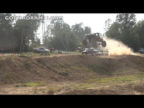 ROCK BOUNCERS GO BIG ON MOTOCROSS TRACK