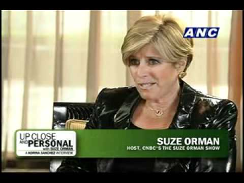 ANC Up Close and Personal with Suze Orman: A Korina Sanchez Interview 1/3