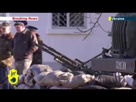 Putin's Invasion of Crimea: Russian forces ready to occupy Ukrainian army positions