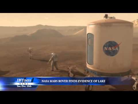 NASA Mars Rover Finds Evidence Of Lake