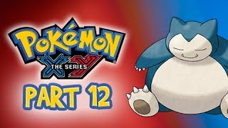 Pokemon X And Y Gameplay Walkthrough Part 12 Snorlax