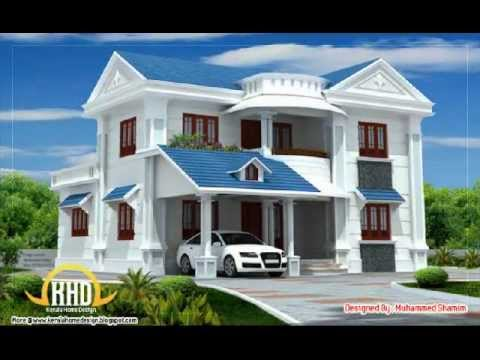Kerala home plans feb 4 10 youtube for Home architecture you tube