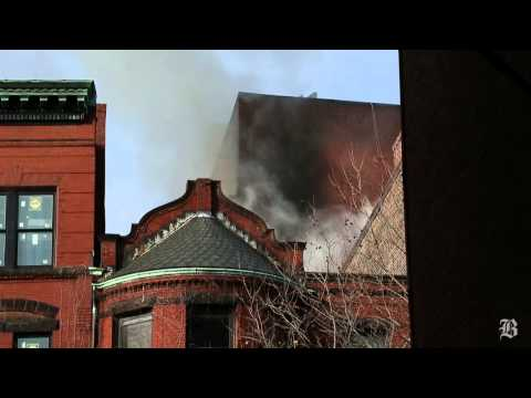 Seven-alarm fire in Back Bay