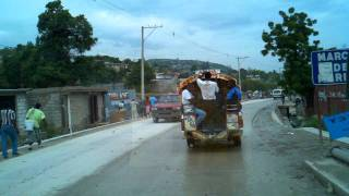 Road To Leogane From Port-au-Prince Haiti, June 2011