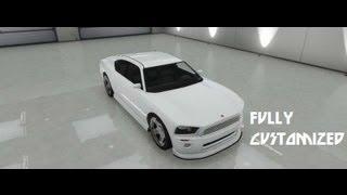 GTA V Fully Customized Buffalo [Dodge Charger]