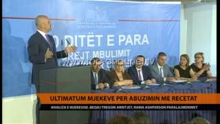 Ultimatum pr abuzimin me recetat  Top Channel Albania  News  L