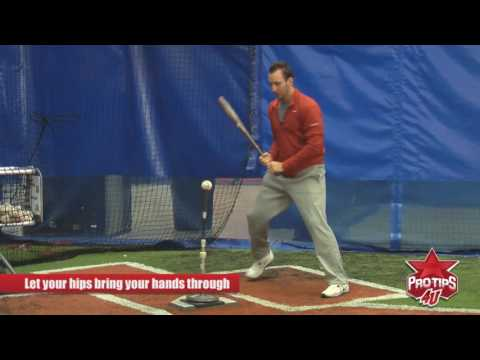 How to Practice Hitting off of a Tee with Adam Rosales