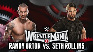 WWE 2K15 - Wrestlemania 31: Randy Orton vs. Seth Rollins (WWE 2K15 Match Simulation)