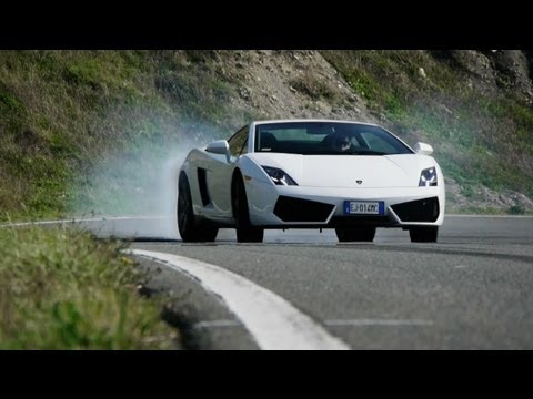 2013 Lamborghini Gallardo LP550-2 and Lamborghini Aventador LP700-4 - CAR and DRIVER