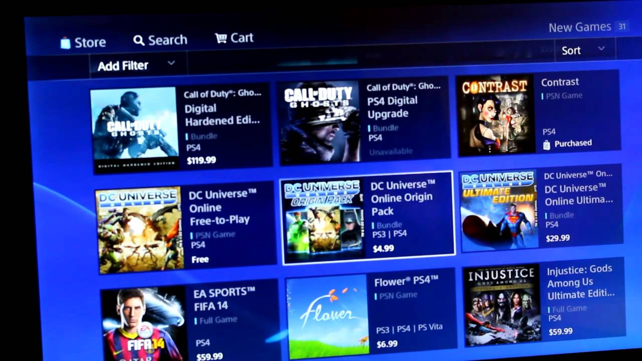 free psn games on playstation store
