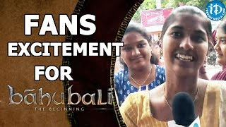 Audience Excitement for Baahubali Movie Release