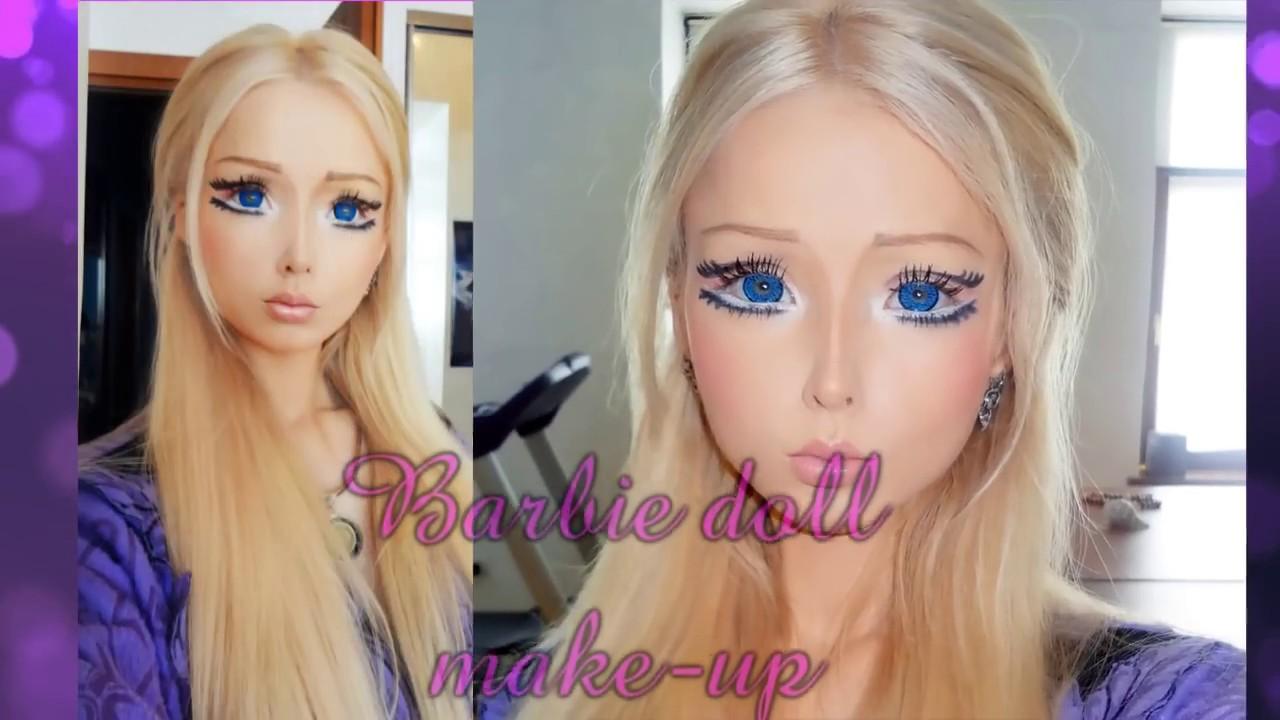 Valeria Lukyanova - tutorial barbie doll make up メイクアップ 化妝 ...