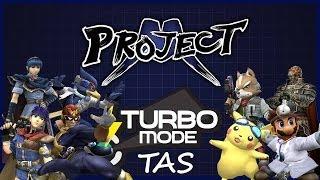 [SSBB: Project M] Turbo Mode Extra Clips [TAS]