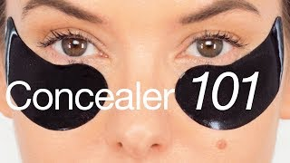 UNDER EYE CONCEALER 101 - OVERVIEW, KIT FAVOURITE PRODUCTS, TIPS