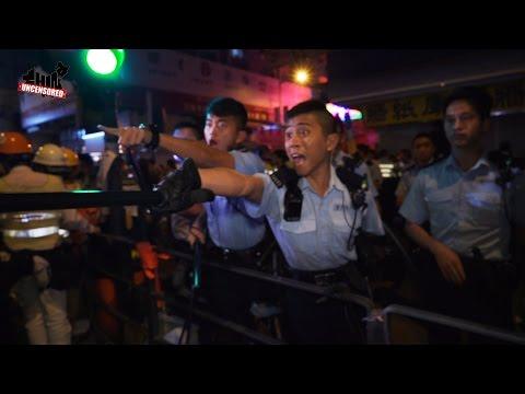 [TQKKD] Truyền hình thực tế - Cảnh sát trấn áp biểu tình ở Hồng Kông