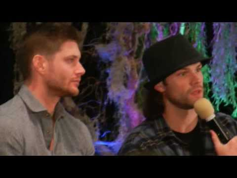 Jared Padalecki's Texan accent anecdote - Burcon 2013