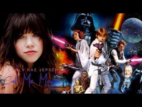 """Bohaterowie Star Wars śpiewają """"Call me maybe"""""""