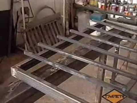Como hacer rejas, balcones, barandas, portones y puertas con macollas