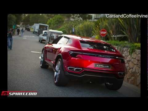 Lamborghini Urus SUV Overview Video! - Monterey 2012