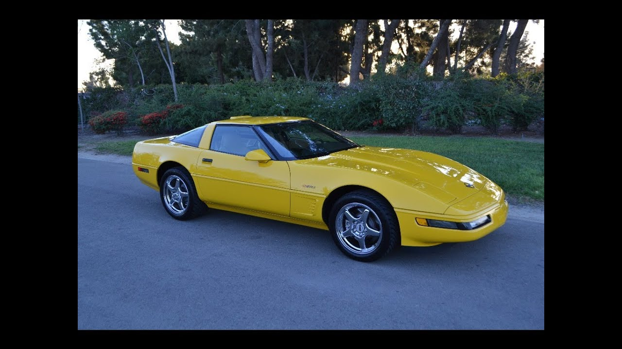 sold 1995 yellow zr1 for sale by corvette mike anaheim california. Cars Review. Best American Auto & Cars Review