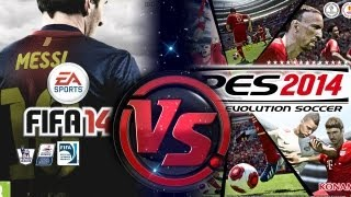 [TTB] FIFA 14 VS PES 2014 E3 Trailer Breakdown Latest