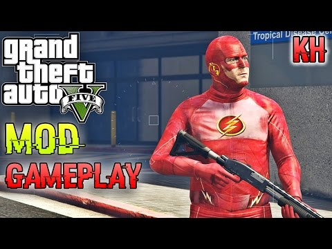 GTA 5 MOD Gameplay Vehicle Canon Mod [Funny Moment]