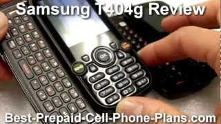 Tracfone Samsung T404g Review