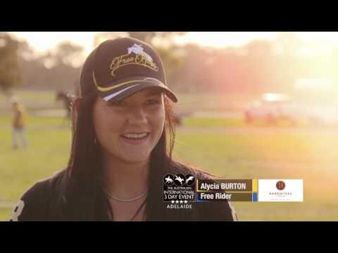 Alycia Burton- Adelaide 3Day Event South Australia