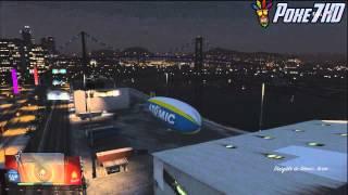 GTA V / Como Usar El Zeppelin En GTA 5 + Gameplay