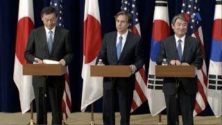 Mỹ, Nhật, Hàn lo ngại về hành động của TQ ở vùng biển tranh chấp