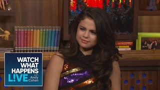 Selena Gomez Asks Andy Cohen How Many People He's Slept With   Host Talkative   WWHL