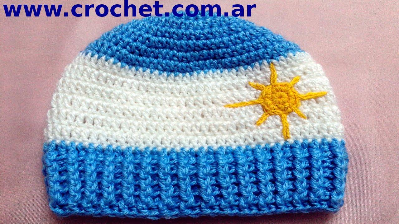 argentino para ni o en tejido crochet tutorial paso a paso   youtube