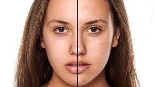 Photoshop Tutorial: How to Retouch Skin Flawlessly with Frequency Separation