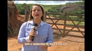 Pol�cia investiga duplo hom�cidio misterioso em Conselheiro Pena