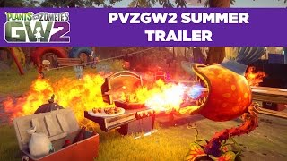 Plants vs. Zombies: Garden Warfare 2 - Nyár Trailer