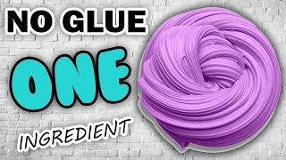Real 1 ingredient Slime! Only Toothpaste and Shampoo ,NO GLUE Slime Recipe,No Borax,No Corn Starch