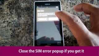 How To Unlock A Nokia Lumia 521 From T-Mobile With An