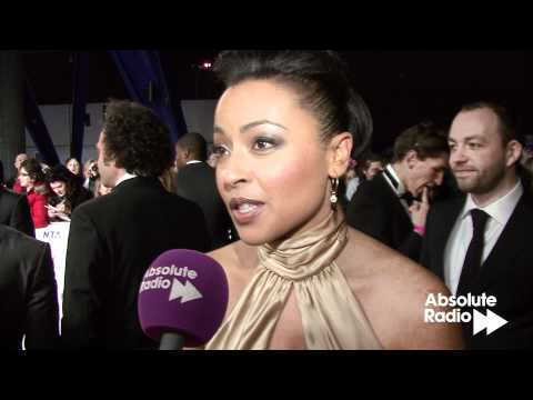 Jaye Jacobs Waterloo Road interview at National TV Awards 2012, Jaye Jacobs, Waterloo Road actress and NTA nominee, chats to Adrian Hieatt from Absolute Radio at the National TV Awards 2012