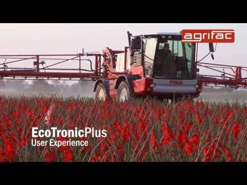 Agrifac EcoTronicPlus - Optimal control and intuitive operation